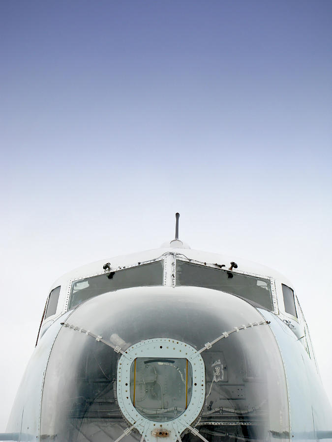 Cockpit And Nose Of A Vintage Canadian Photograph by Oliverchilds