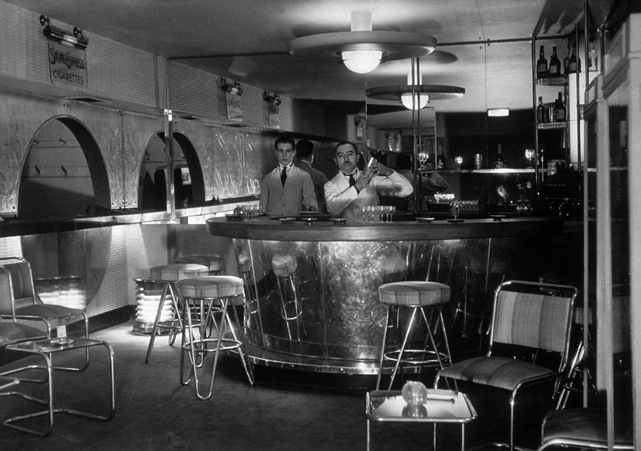Cocktail Barmen Photograph by Sasha