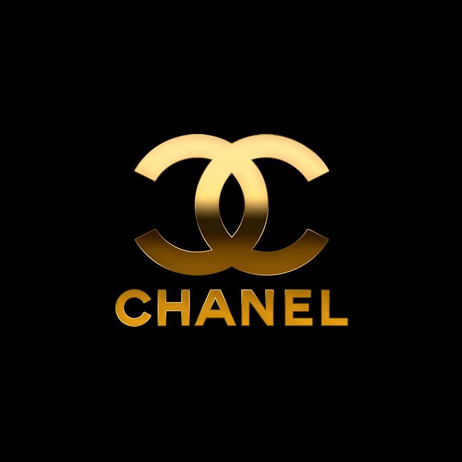 Coco Chanel Digital Art - Coco Chanel.Logo by Suzanne Corbett