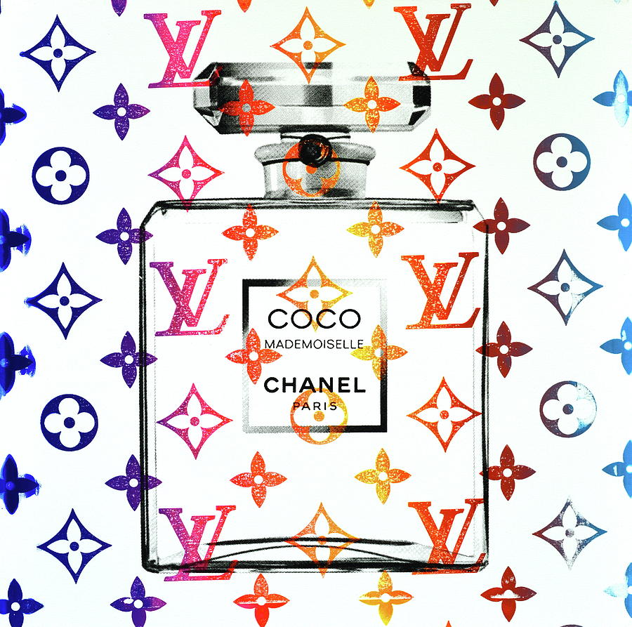 Chanel Mixed Media - Coco Louis  by Shane Bowden