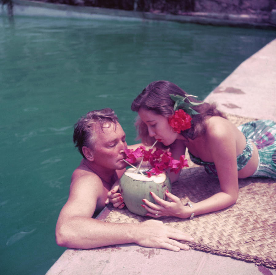 Coconut Cocktail Photograph by Slim Aarons