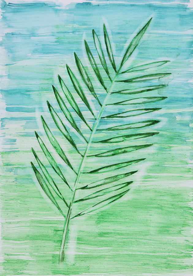 Coconut Leaf by Maria Arnaudova