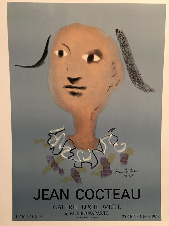 Cocteau Exhibition 1973 by Andrew Fare