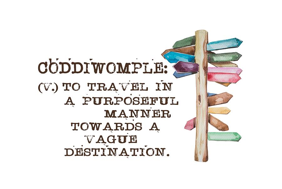 Coddiwomple by Heather Applegate