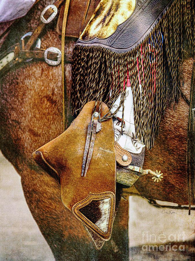Cody Spur and Cowboy by Craig J Satterlee