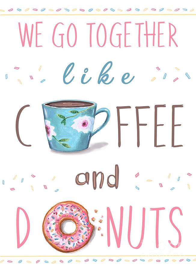Coffee and Donuts by Elizabeth Robinette Tyndall
