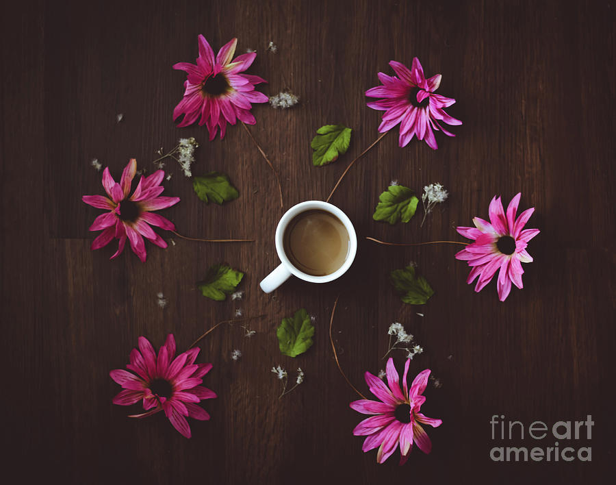 Coffee and Flowers by Adrian DeLeon