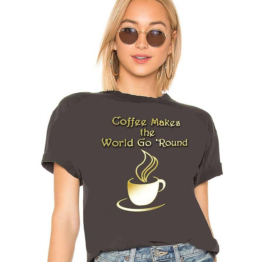 Coffee Aroma Shirt by Chuck Staley