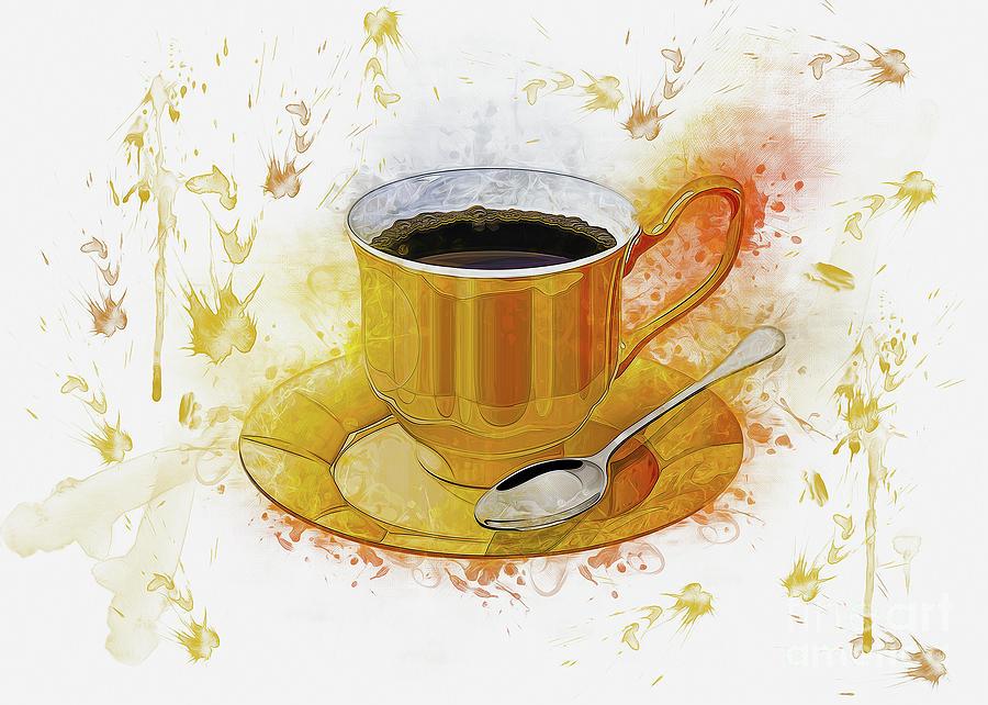 Coffee Art by Ian Mitchell