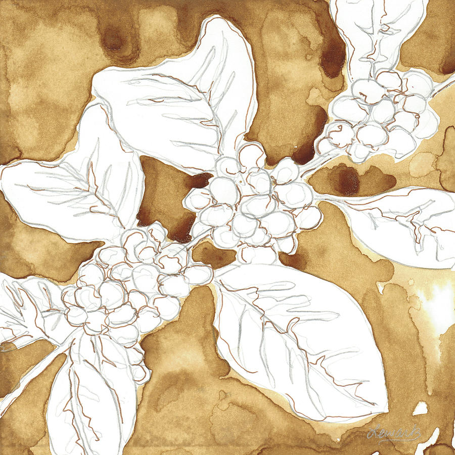 Coffee Mixed Media - Coffee Beans by Amy Lewark