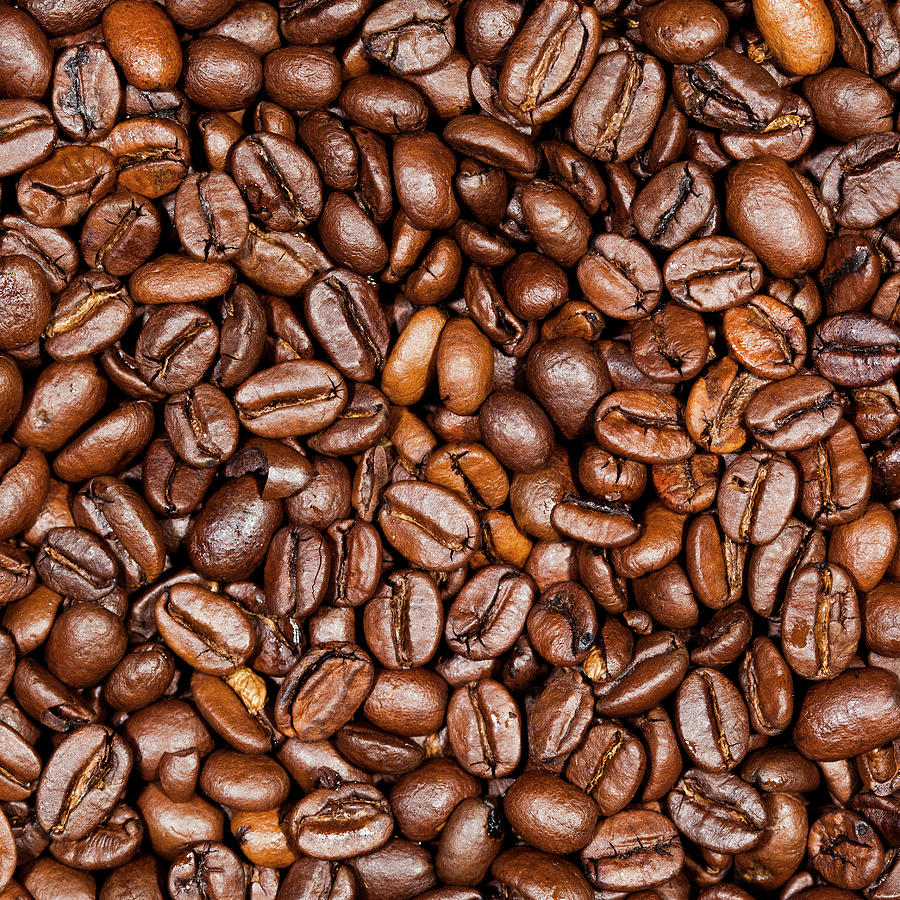 Coffee Beans Close Up Photograph by Traveler1116