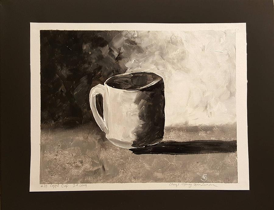 Coffee Cup Painting