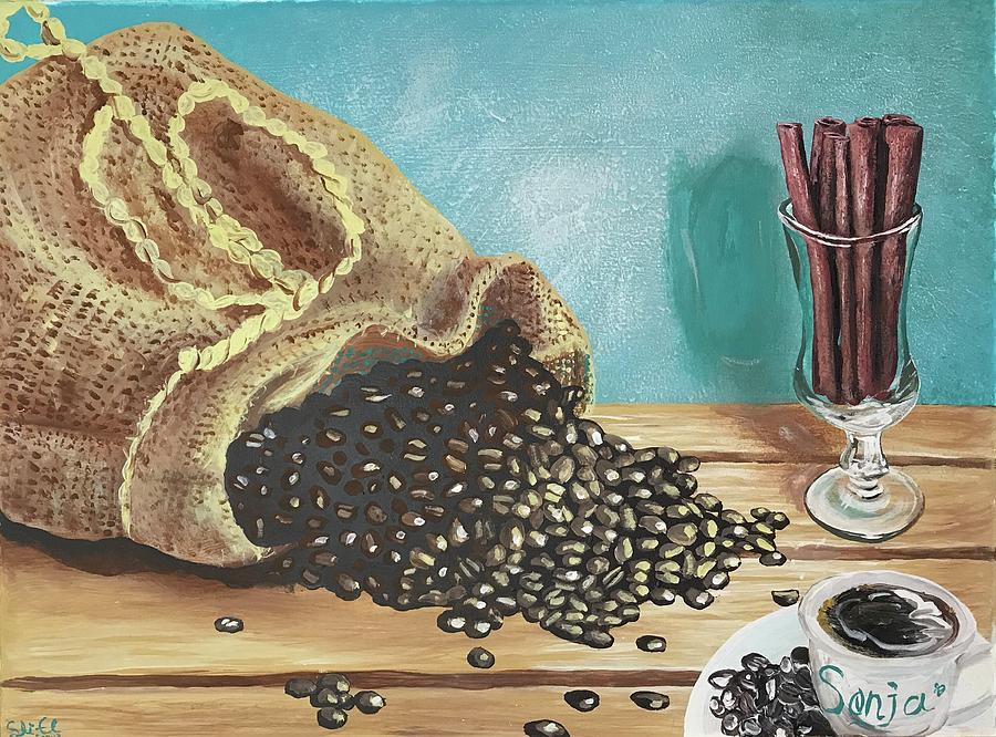 Coffee for Sonja by Sean Linell Ivy-El