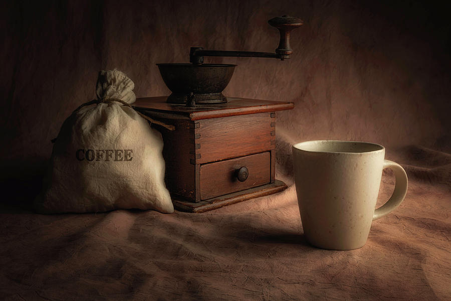 Coffee Grinder Still Life by Tom Mc Nemar