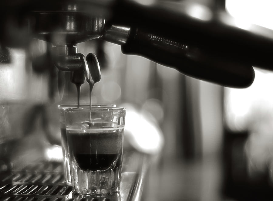 Coffee In Glass Photograph by Jrj-photo