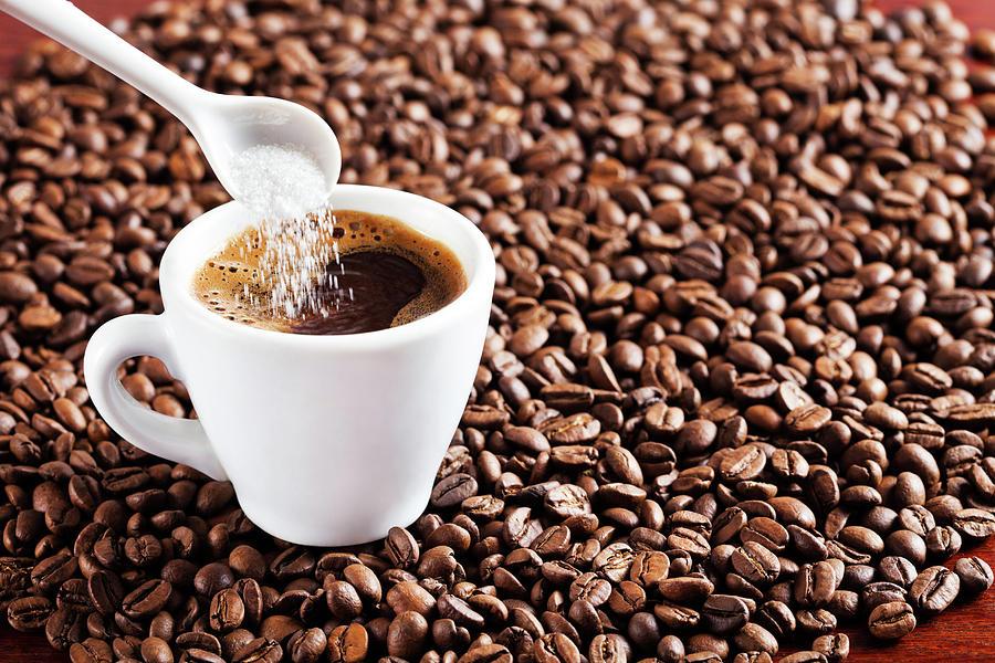 Coffee Photograph by Photodjo