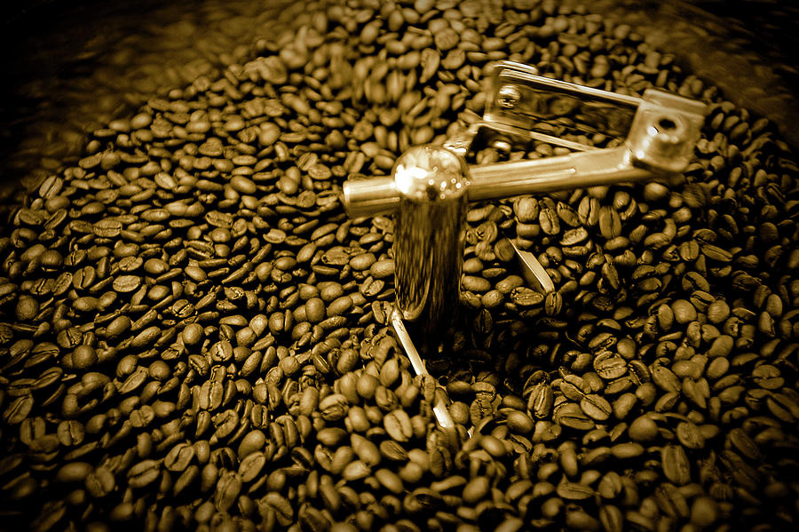 Coffee Roasting Photograph by Copyright Of Jeffrey Yap, Jeff Ryan Studio