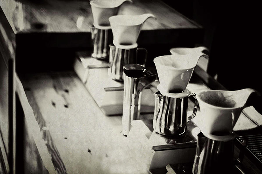 Coffee Shop Photograph by Hilde Wegner . Photography