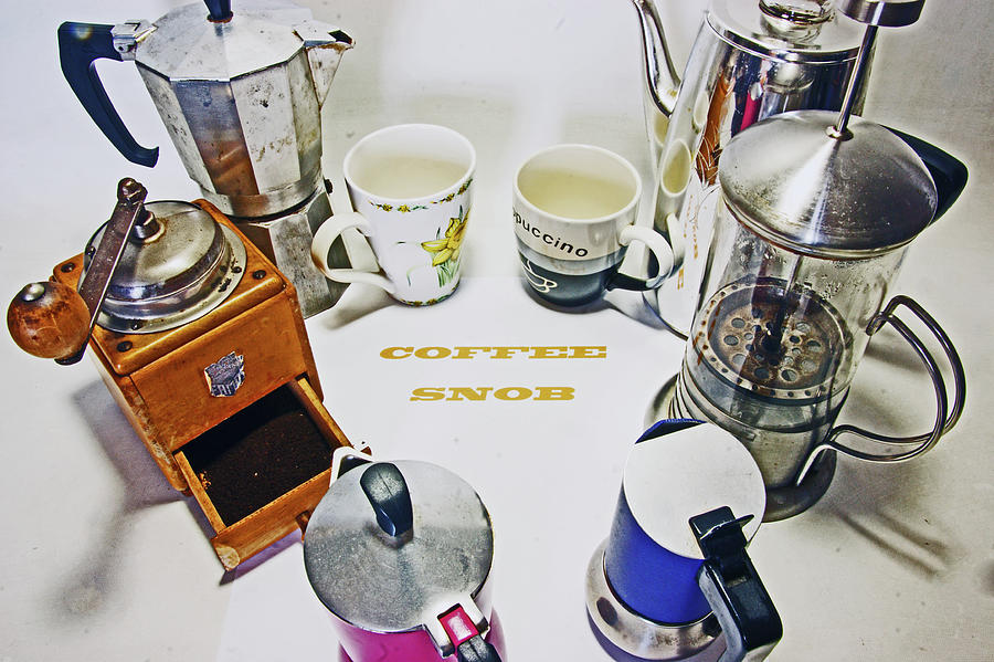 COFFEE SNOB.  by Lachlan Main