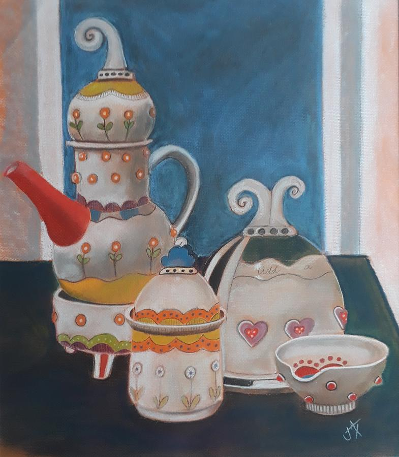 Coffee Time by Jacqui Simpson