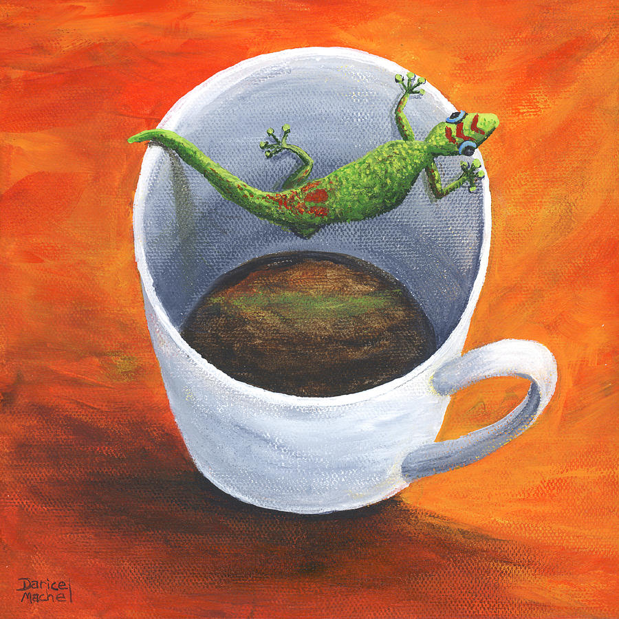 Coffee With A Friend by Darice Machel McGuire