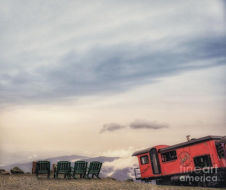 Cog Railway  by Mary Capriole