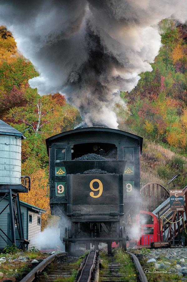 Cog Railway Steamer 2876 Photograph