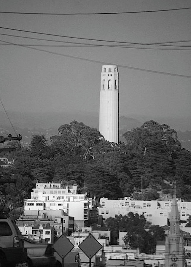 Coit Tower by James Adger