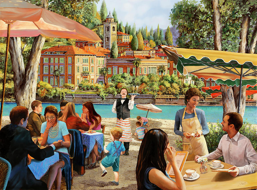 Colazione Al Lago Painting