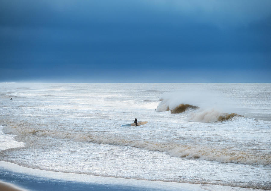 Cold and Stormy Ocean by David Kay
