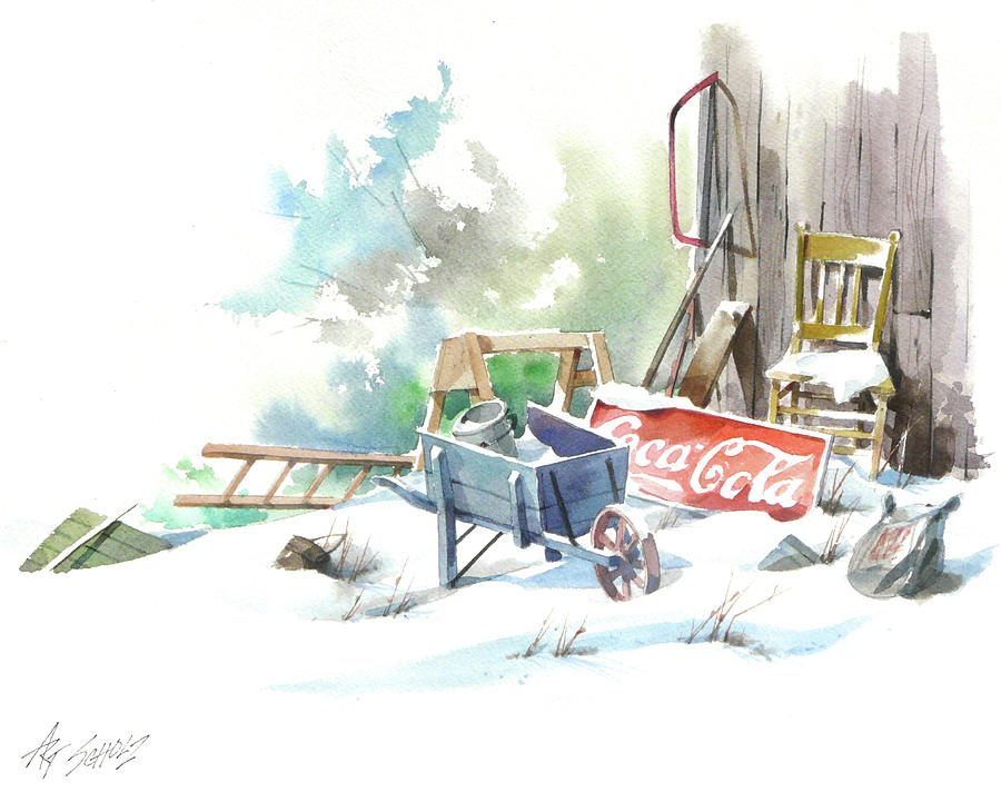 Cold Cola by Art Scholz