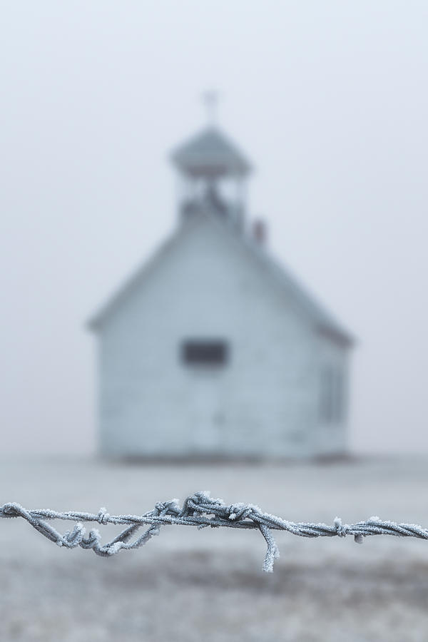 Cold Morning at the Church by Darren White