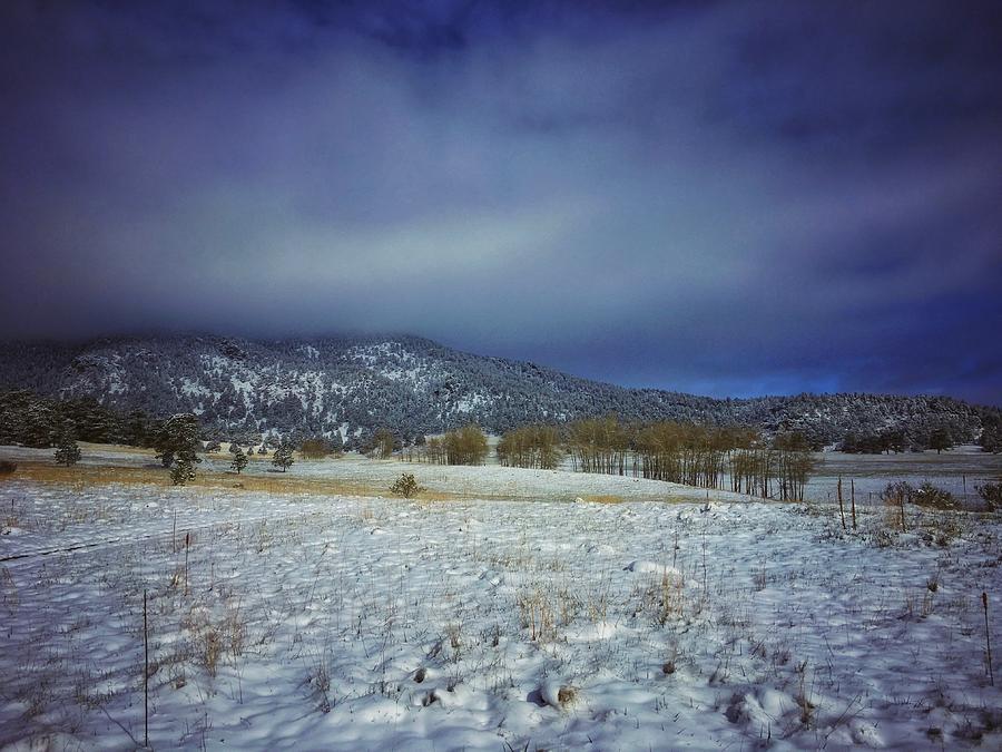 Cold Skies over Elk Meadow by Dan Miller