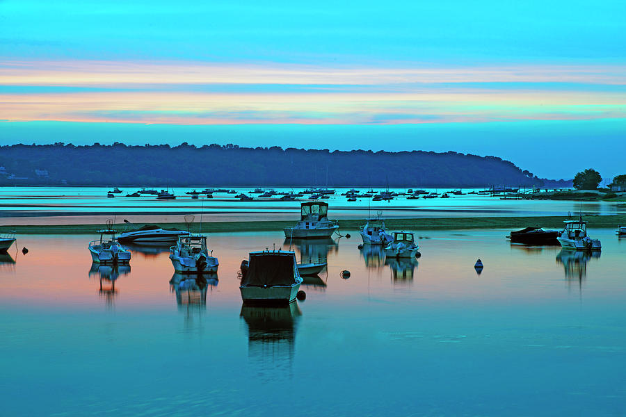 Cold Spring Harbor, Long Island, Ny Photograph by Rudi Von Briel