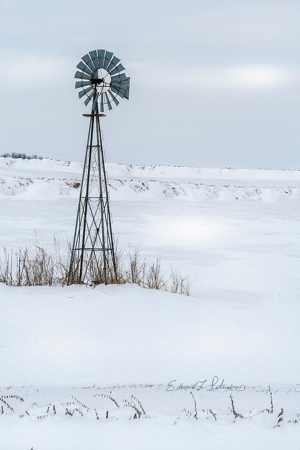 Cold Windmill by Edward Peterson