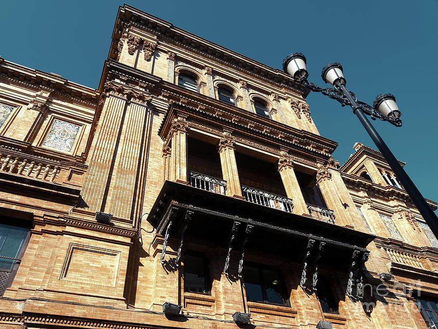 Coliseo de Sevilla Building by John Rizzuto