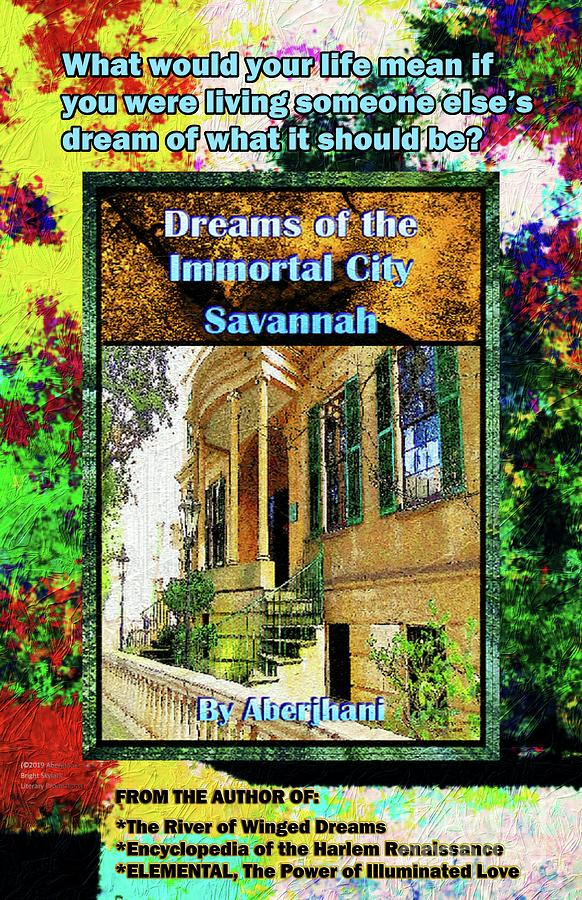 Impressionism Mixed Media - Collectible Dreaming Savannah Book Poster by Aberjhani