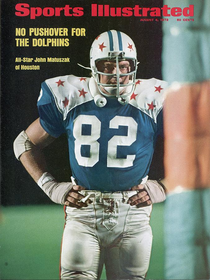 College All-star John Matuszak, 1973 All-star Game Sports Illustrated Cover Photograph by Sports Illustrated