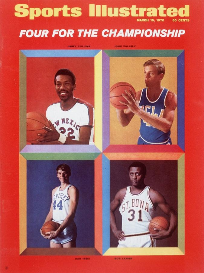 College Basketball Four For The Championship Sports Illustrated Cover Photograph by Sports Illustrated