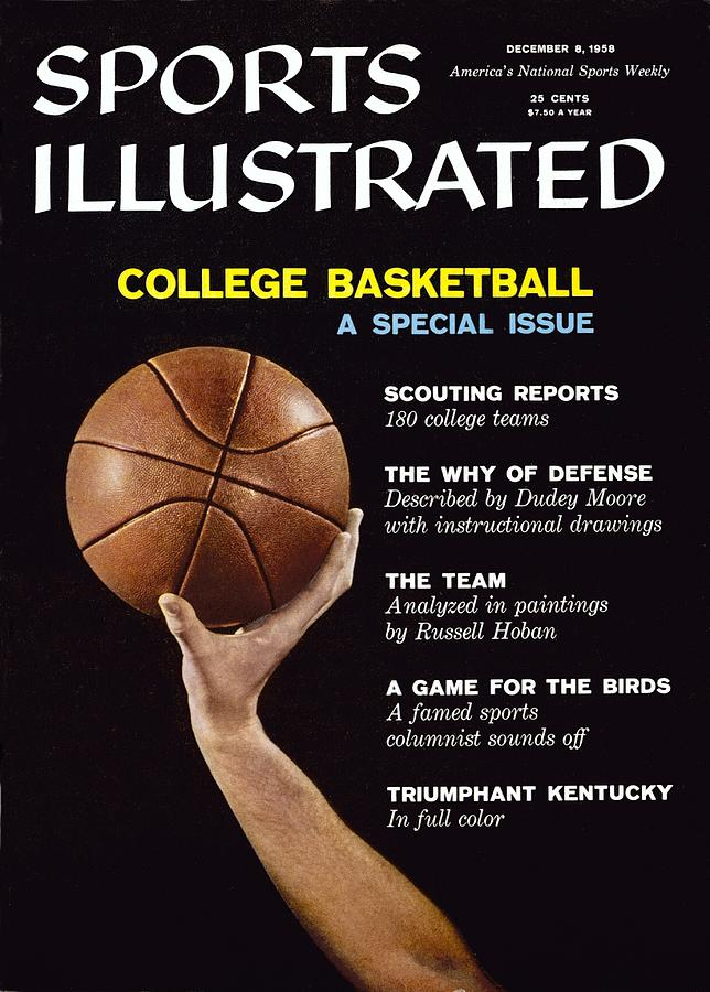 College Basketball Preview Sports Illustrated Cover Photograph by Sports Illustrated