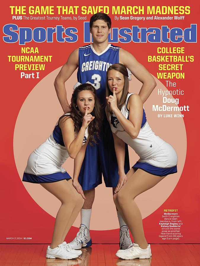 College Basketballs Secret Weapon The Hypnotic Doug Sports Illustrated Cover Photograph by Sports Illustrated