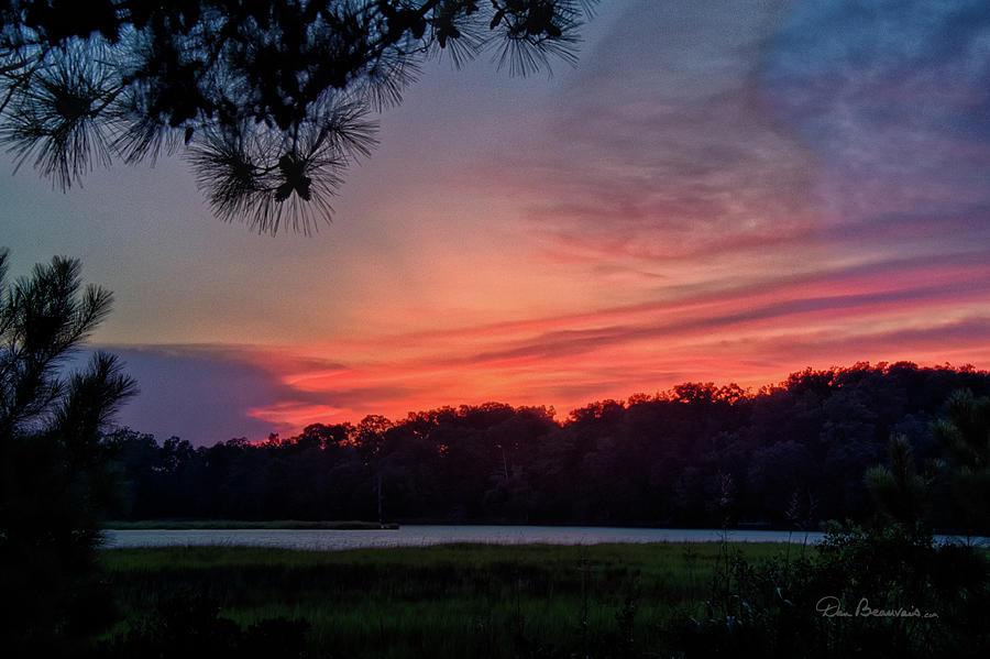 College Creek Sunset 5724 by Dan Beauvais