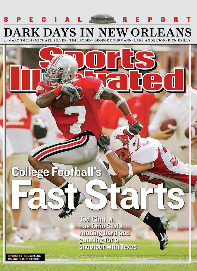 College Footballs Fast Starts Sports Illustrated Cover Photograph by Sports Illustrated