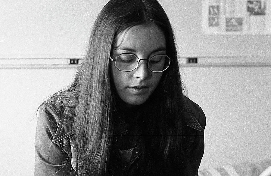 College Student with Octagonal Eyeglasses, 1972 by Jeremy Butler