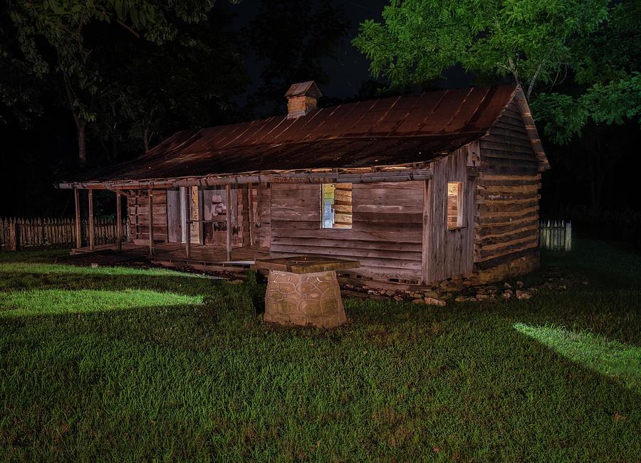 Collier Homestead Cabin by Hal Mitzenmacher