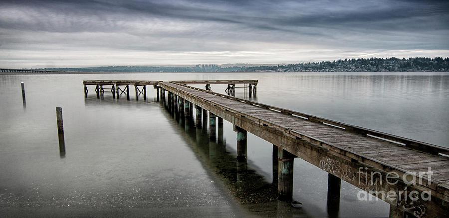 Colman Park Dock Seattle by Sonya Lang
