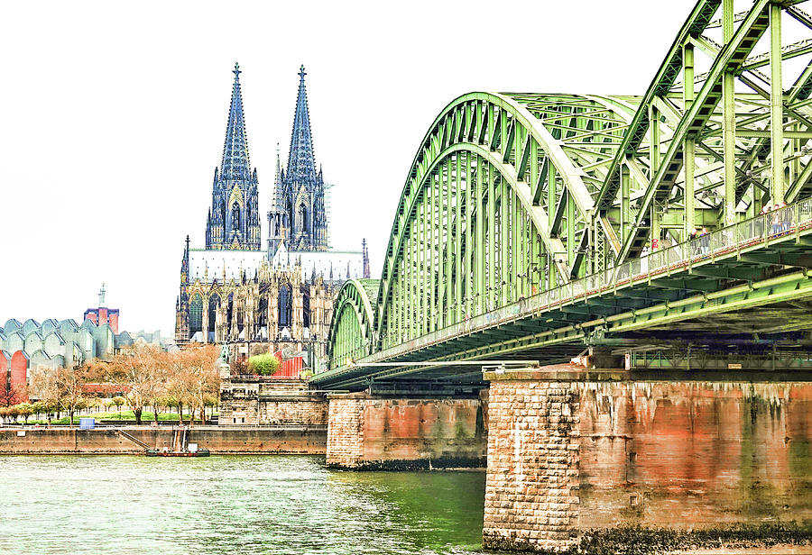 Cologne Cathedral by Fran Riley