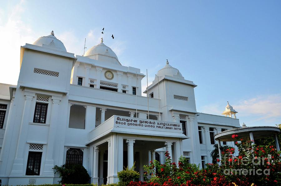 Colonial Era Rebuilt Jaffna Public Library Landmark Building For