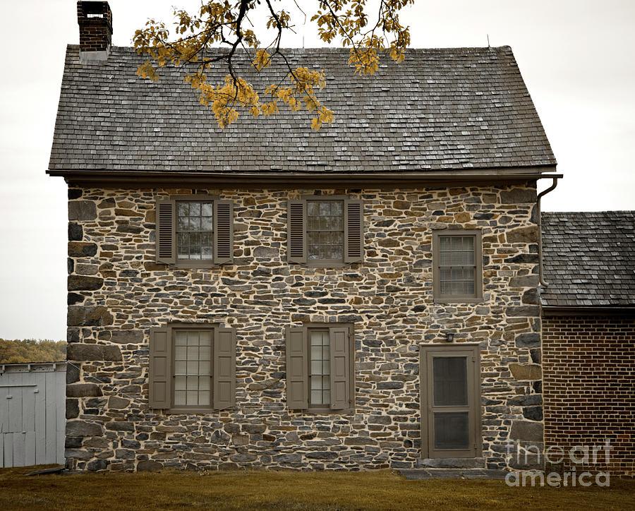 Colonial Stone House Gettysburg by John Stephens