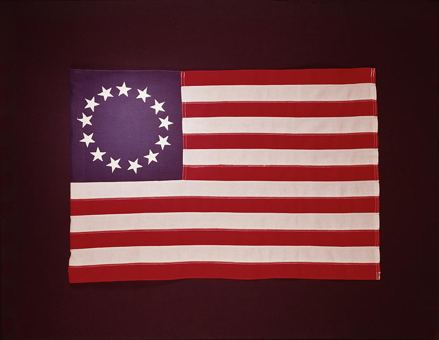 Colonial Us Flag Photograph by H. Armstrong Roberts